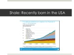 shale recently born in the usa