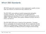 which iso standards