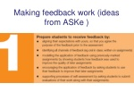 making feedback work ideas from aske