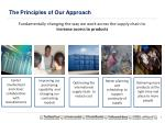 the principles of our approach
