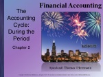 the accounting cycle during the period