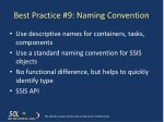 best practice 9 naming convention