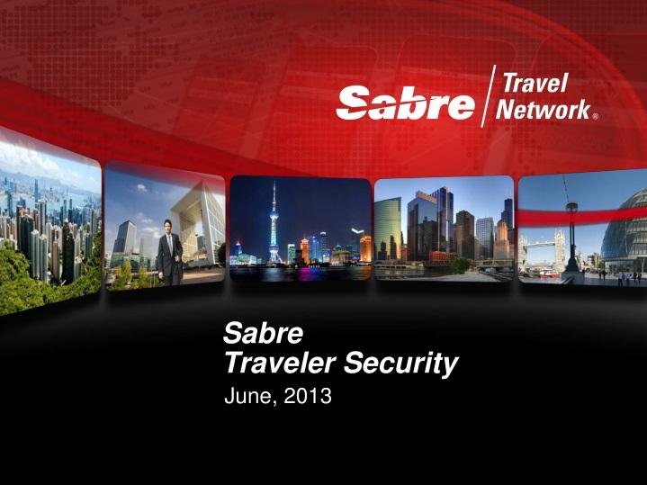 sabre traveler security n.