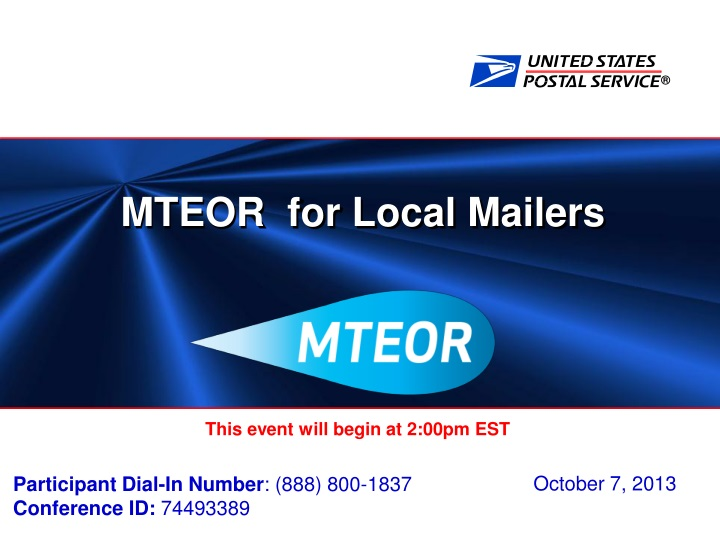 mteor for local mailers n.