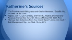 katherine s sources