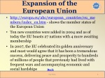 expansion of the european union