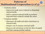 patterns of multinational cooperation 2 of 3