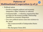 patterns of multinational cooperation 3 of 3
