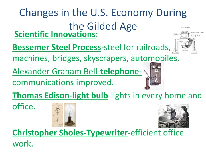 the gilded age in the u s The gilded age entered the lexicon and the annals of american history through mark twain and charles dudley warner's satirical 1873 novel of the same name, the gilded age: a tale of today.