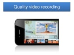 quality video recording
