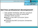 get free professional development