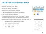 flexible software b ased firewall