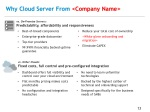 why cloud server from company n ame