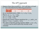 the apt approach 1