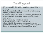 the apt approach 3