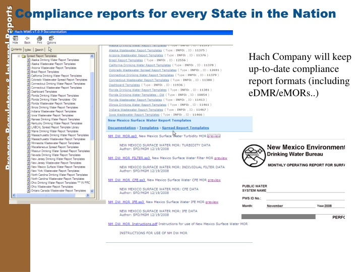 Compliance reports for every State in the Nation