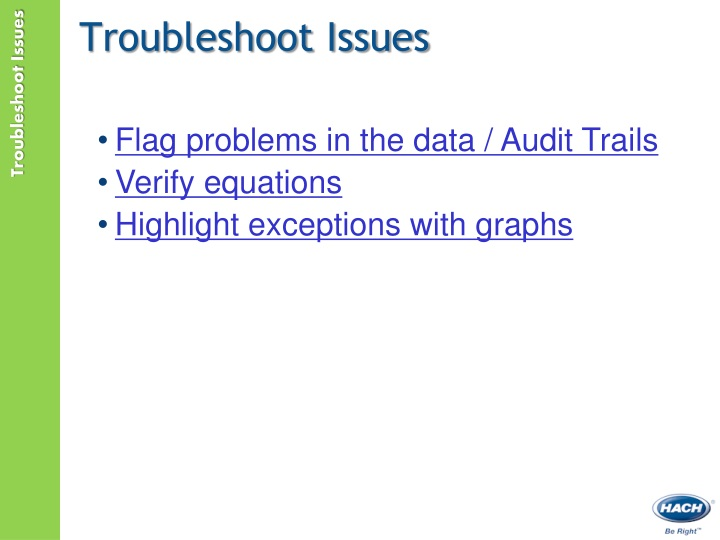 Troubleshoot Issues