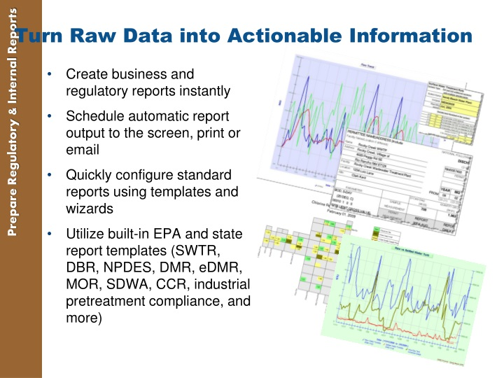 Turn Raw Data into Actionable Information