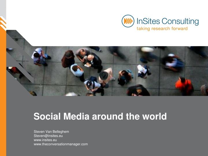 social media around the world n.