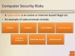 computer security risks 1