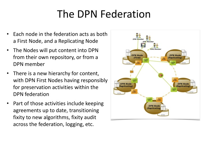 The DPN Federation