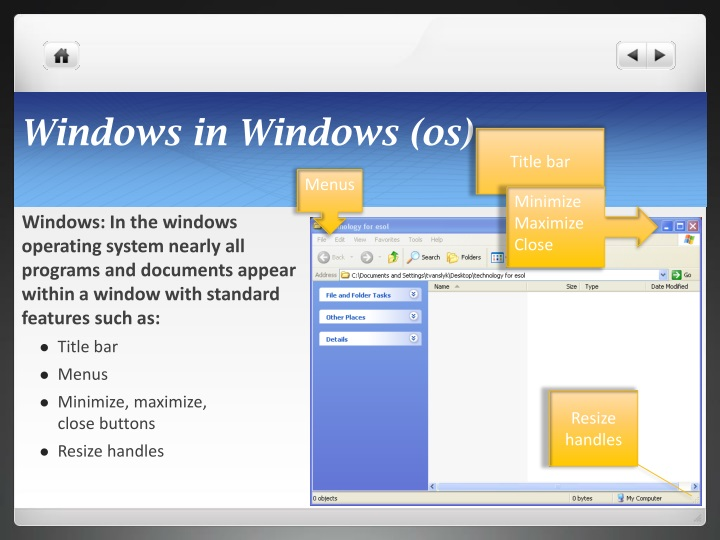 Windows in Windows (