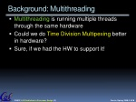 background multithreading