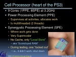 cell processor heart of the ps3