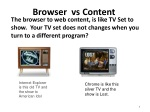 browser vs content