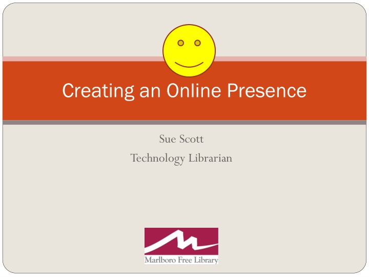 creating an online presence n.