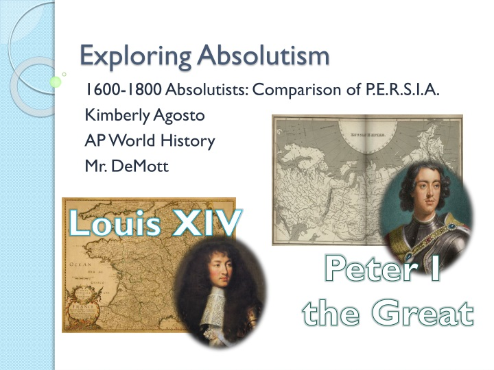 an introduction to the history of absolutism and louis xiv Introduction louis xiv (b 1638–d 1715) was the longest reigning king in french history his seventy-two years on the throne were a period of dramatic political, social, and cultural development as well as extraordinary turbulence.
