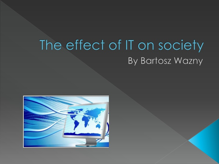 effect of technology on society At the same time this raises the concern of whether technology has a good or bad influence on our society, is the use of technology effects of modern.