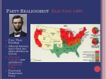 party realignment election 1860