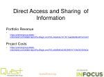 direct access and sharing of information