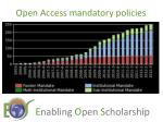 open access mandatory policies