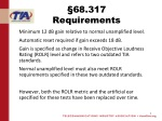 68 317 requirements