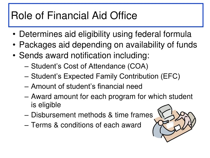Role of Financial Aid Office
