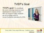 tvep s goal