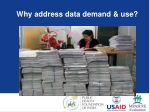why address data demand use