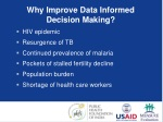 why improve data informed decision making