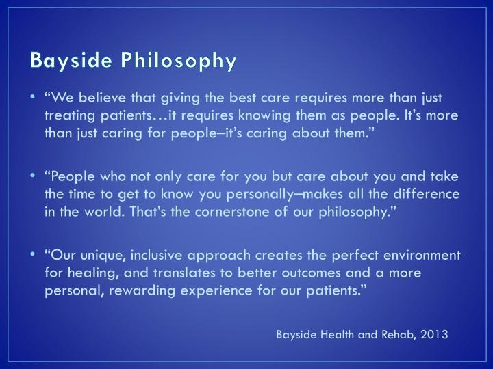 Bayside Philosophy