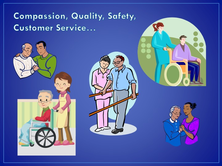 Compassion, Quality, Safety,