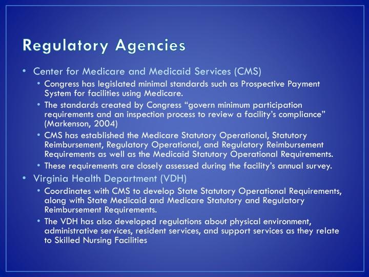 Regulatory Agencies