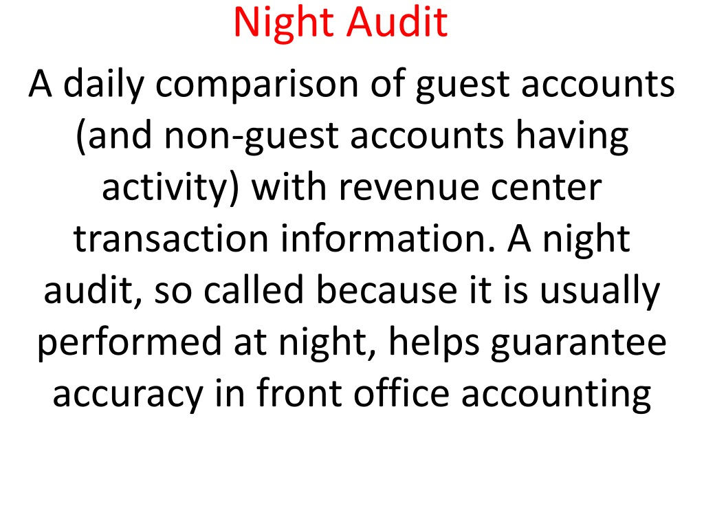 front office information