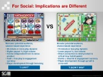 for social implications are different