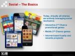 social the basics