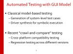 automated testing with gui model