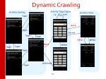 dynamic crawling
