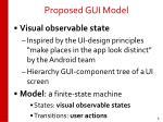 proposed gui model