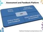 assessment and feedback platform